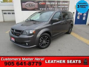2018 Dodge Grand Caravan GT  LEATHER CAM HS HTD-S/W P/SLIDERS/GA