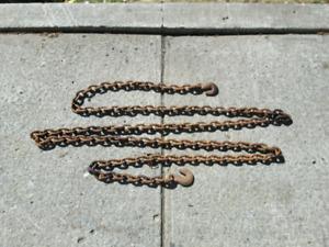 logging chain 208 inch over 17 feet long