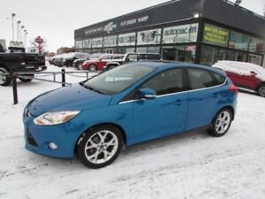 2012 Ford Focus SEL 4 Door Hatch Back **LOCAL MANITOBA VEHICLE**