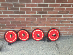 4 round Hockey Canada shooting target discs  -$10