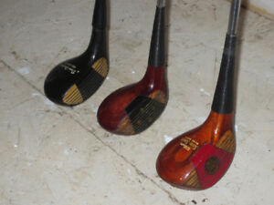 Vintage Fairway Woods - 4W, 5W, 7W