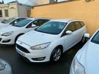 2015 65 FORD FOCUS 1.5 TDCI 120 STYLE WHITE ESTATE DIESEL 1 OWNER EX POLICE
