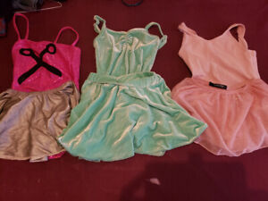 Girls ballet sets and leotards