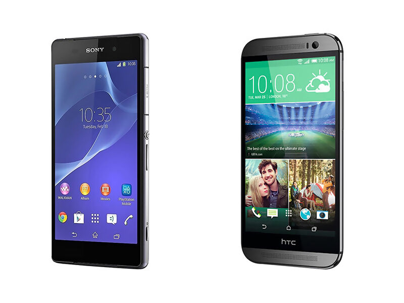Sony Xperia Z2 vs. HTC One M8