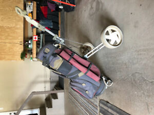 MacGregor Golf Bag & Pull Cart