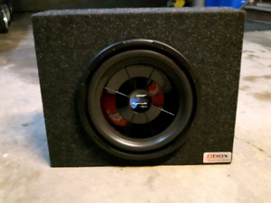 Subwoofer with box