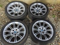 BMW E60 MVS2 alloy wheels