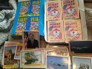 Topps + military army cards OPERATION DESERT STORM - SHIELD