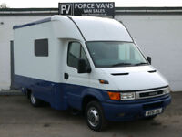 IVECO DAILY 40C13 HORSE BOX MINIBUS SHOP CREW MOBILE POLICE STATION OFFICE VAN