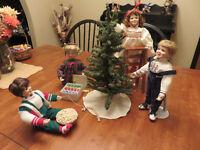 Christmas Porcelain Dolls