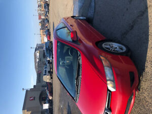 2007 Red Honda Civic Coupe/ 260km/$4000 OBO quick sale