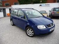 2005 Volkswagen Touran 1.9TDI SE 7 SEAT DIESEL MPV, EW CD RCL 2x KEYS CRUISE