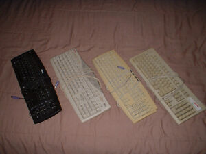 Claviers d'ordinateur / Computer keyboards