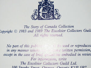 Collector item The story of Canada Peterborough Peterborough Area image 2