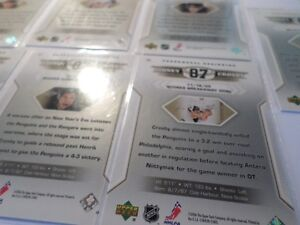 SIDNEY CROSBY HOCKEY CARDS  (7 Cards)   (VIEW OTHER ADS) Kitchener / Waterloo Kitchener Area image 7
