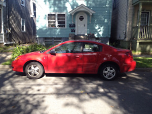 2006 Saturn ION 4 door Quad Coupe AS IS.