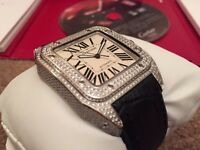 Men's Cartier Santos 100 Swiss ETA 2836