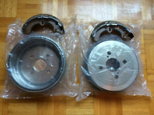 Corolla 93-02 Freins/Brakes: 2x Rear Drums + Shoes, 1x Cylinder