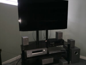 "52"" Samsung TV &Yamaha Surround system"