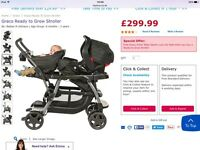 Sit and stand graco pushchair