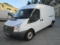 2013 Ford Transit 2.2TDCi 100PS EU5 300M Med Roof Van 300 LWB 1 owner diesel