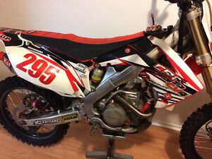 2010 Honda Crf 250r with ownership