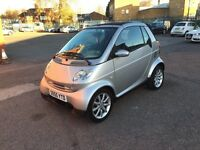 Smart 2005 petrol Full service history Automatic 968cc