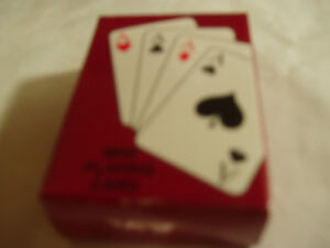 MINIATURE DECK OF PLAYING CARDS