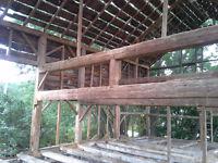 Beautiful Vintage Barn Frame