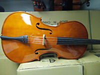 CELLO, solid spruce top, solid maple back, sold by instructor