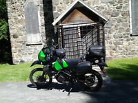 Kawasaki double-usage KLR 650