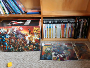 Valiant comic collection