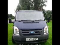 Ford transit dropside pick up truck