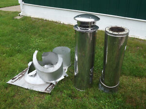 CHIMNEY Stainless steel.