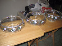 9 Candy bowls and jars - NEW PRICE  FREE DELIVERY  O.B.O