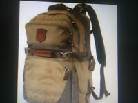 Missing Eddie Bauer Canvas backpack from Truck at Kelowna Costco