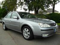 FORD MONDEO 2.0 TDCi 2005 ZETEC COMPLETE WITH M.O.T HPI CLEAR INC WARRANTY