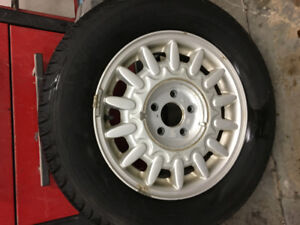 205-65-15 SET OF FOUR WINTER TIRES