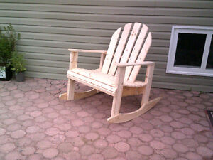 rocking chair and stuff