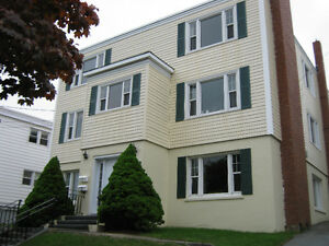 Cat-friendly two br w/fireplace in West End Halifax