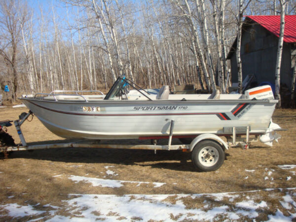 Other blue fin sportsman 1710 for sale canada for Aluminum fish and ski boats
