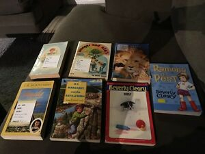 Various children's chapter books
