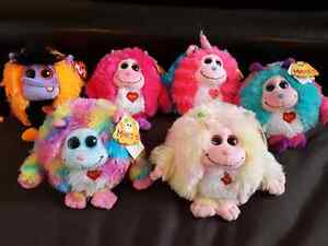 Ty Monstaz Stuffies. All with tags attached. London Ontario image 1