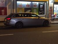 Audi A6 S line Avant 55 19 RS4 alloys FSH