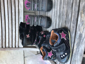 Geox shoes and winter boots -infant sz6