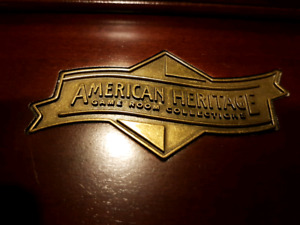 American heritage game room collection mirror