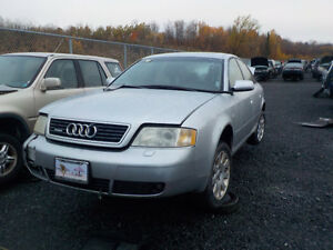 2001 Audi A6 Now Available At Kenny U-Pull Cornwall