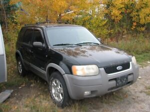 2001 ford escape for parts