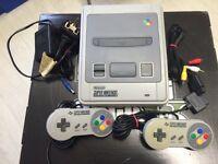 Super Nintendo Console Great Condition