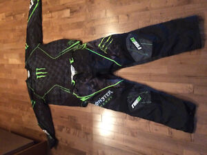 Motocross pants and jerseys